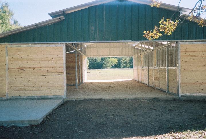 Choice free horse barn plans blueprints storage plan shed for Free 2 stall horse barn plans