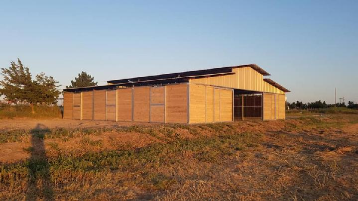LONESTAR BARNS RCA CUSTOM BARN
