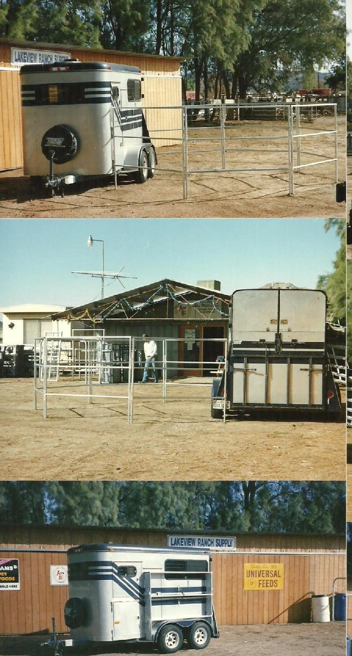 PORTABLE TRAILER PANELS BY LONESTAR BARNS