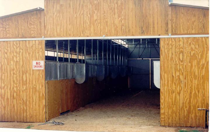 BARN INTERIORS, MANY CUSTOM STYLES TO CHOOSE FROM