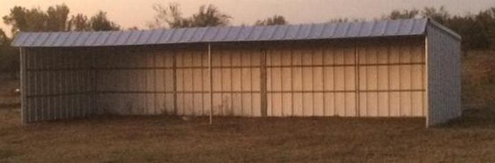 Lonestar Barns Loafing Shed 12 x 36 T